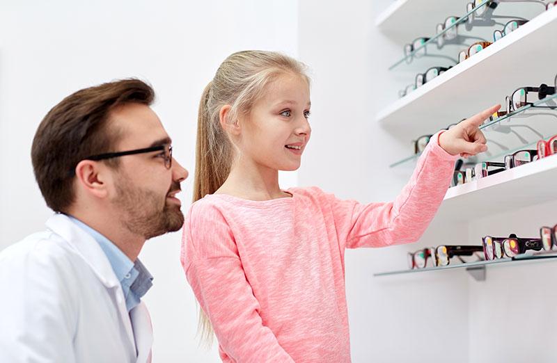 eyeglass for child