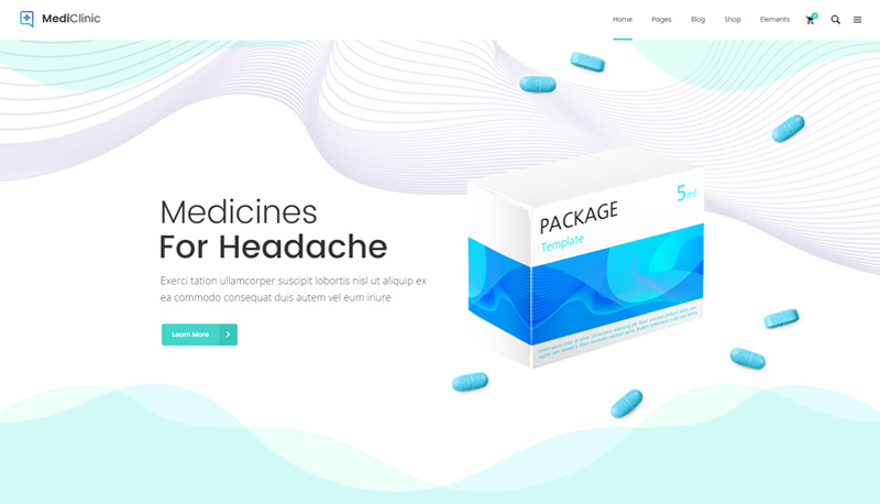 Medicines for headache